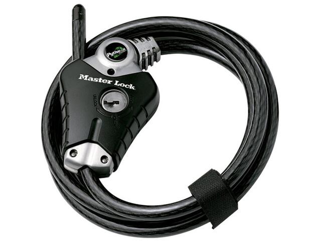 Masterlock Python Lock 8428 Cable Lock 10x1800mm, black